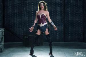 TS Chanel Santini as Wonder Woman