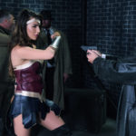 Wonder Woman fighting Eros Agents